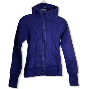 LULULEMON Scuba Hoodie in Purple